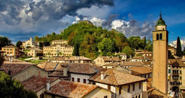 Asolo in autumn